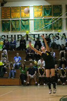 6484 Varsity Volleyball v Orting 102109