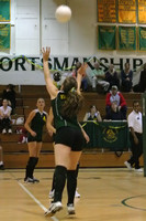 6631 Varsity Volleyball v Orting 102109
