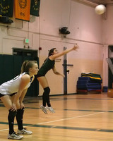 6638 Varsity Volleyball v Orting 102109