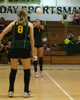 6639 Varsity Volleyball v Orting 102109