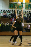 6640 Varsity Volleyball v Orting 102109