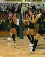 6664 Varsity Volleyball v Orting 102109