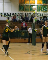 6679 Varsity Volleyball v Orting 102109