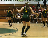 6680 Varsity Volleyball v Orting 102109