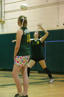 6733 Varsity Volleyball v Orting 102109