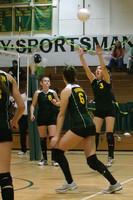 6754 Varsity Volleyball v Orting 102109