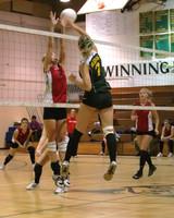 6812 Varsity Volleyball v Orting 102109