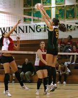 6838 Varsity Volleyball v Orting 102109