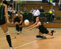 6846 Varsity Volleyball v Orting 102109