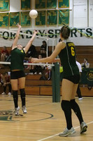6850 Varsity Volleyball v Orting 102109
