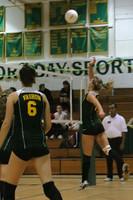 6851 Varsity Volleyball v Orting 102109