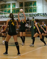 6854 Varsity Volleyball v Orting 102109