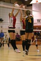 6855 Varsity Volleyball v Orting 102109