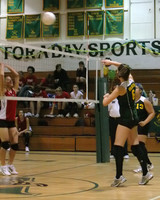 6863 Varsity Volleyball v Orting 102109