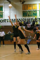 6876 Varsity Volleyball v Orting 102109