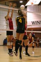 6877 Varsity Volleyball v Orting 102109