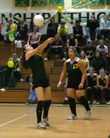 6894 Varsity Volleyball v Orting 102109