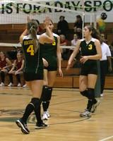 6898 Varsity Volleyball v Orting 102109