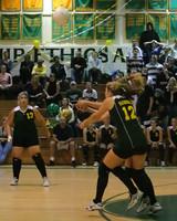 6905 Varsity Volleyball v Orting 102109