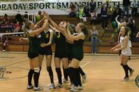 6910 Varsity Volleyball v Orting 102109