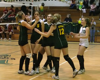 6911 Varsity Volleyball v Orting 102109
